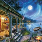 Moonlight Lodge Jigsaw Puzzle Only $9.97!