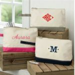 Personalized Canvas Boat Tote Wristlets Only $9.99 Shipped!