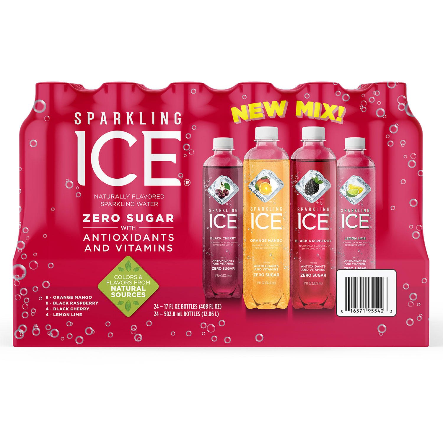Sam's Club: Sparkling Ice Variety Pack, 24 count Only $12.39!