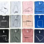 State Outline Tees Only $16.99 Shipped!