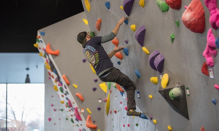 The Proving Ground Bouldering Basics Class as low as $18!