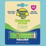 Banana Boat Aloe Vera Lip Protection Sunscreen Only $1.93!