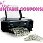 NEW Printable Coupons! Updated 11/5