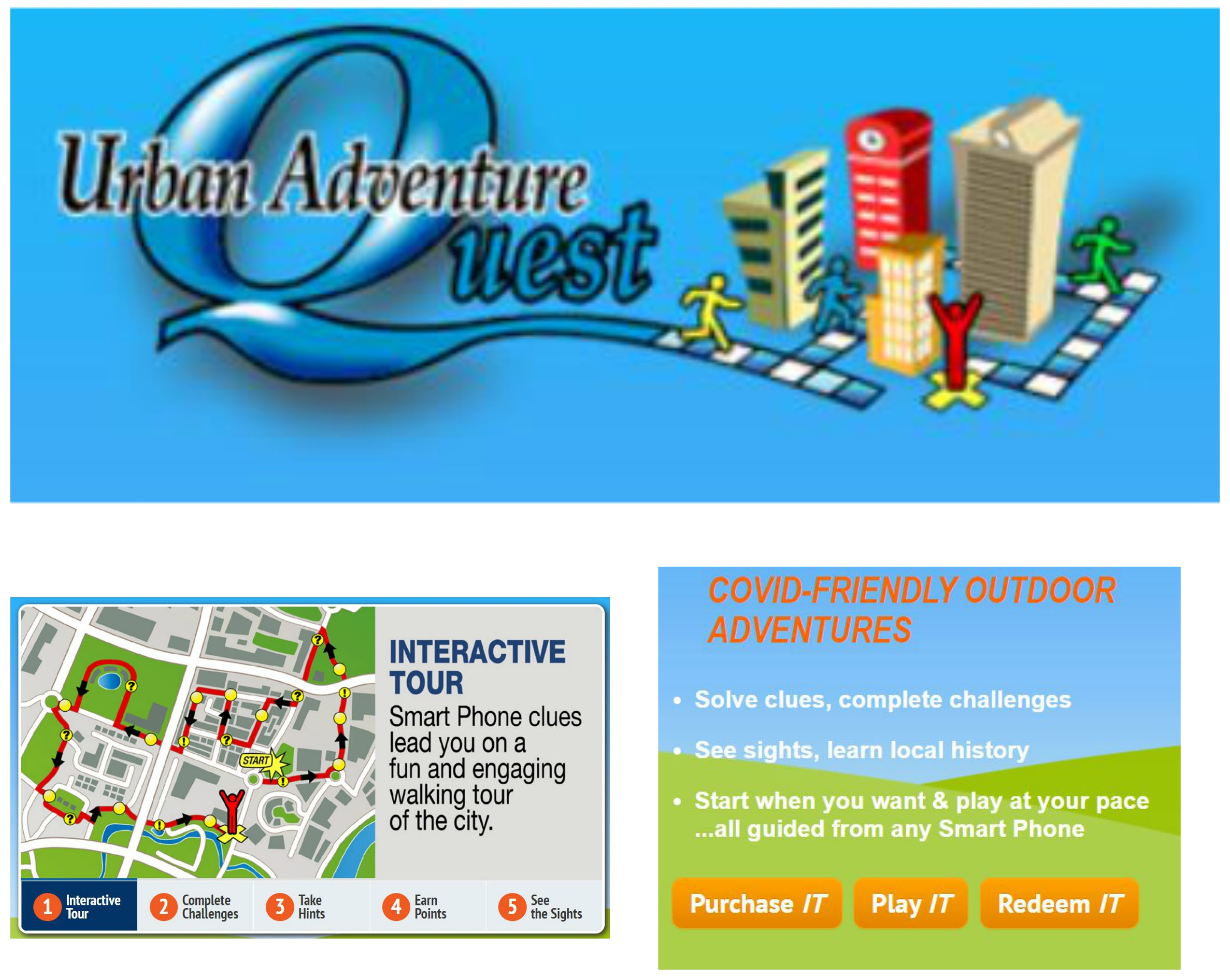 Urban Aventure Quest Scavenger Hunt Only $29.20!