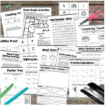 At Home Learning Packets for Pre-K thru 5th Grade Only $7.99!