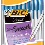 BIC Cristal Xtra Smooth Ballpoint Pens 10-Count Only $0.97!