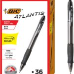 BIC Velocity Bold Retractable Ball Pens, 36 count Only $10.18!
