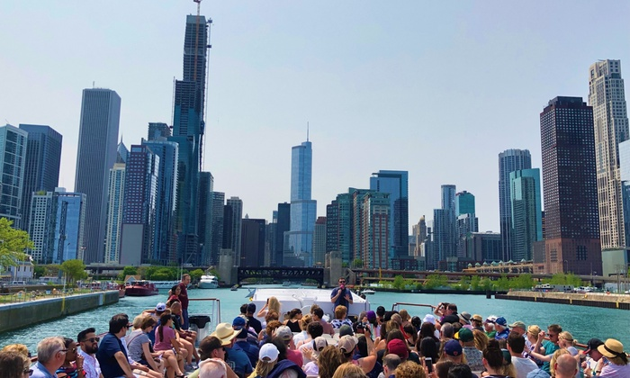 Chicago River and Lake Architecture Tour as low as $23.20!