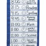 Classroom Schedule Pocket Chart Only $9.62!