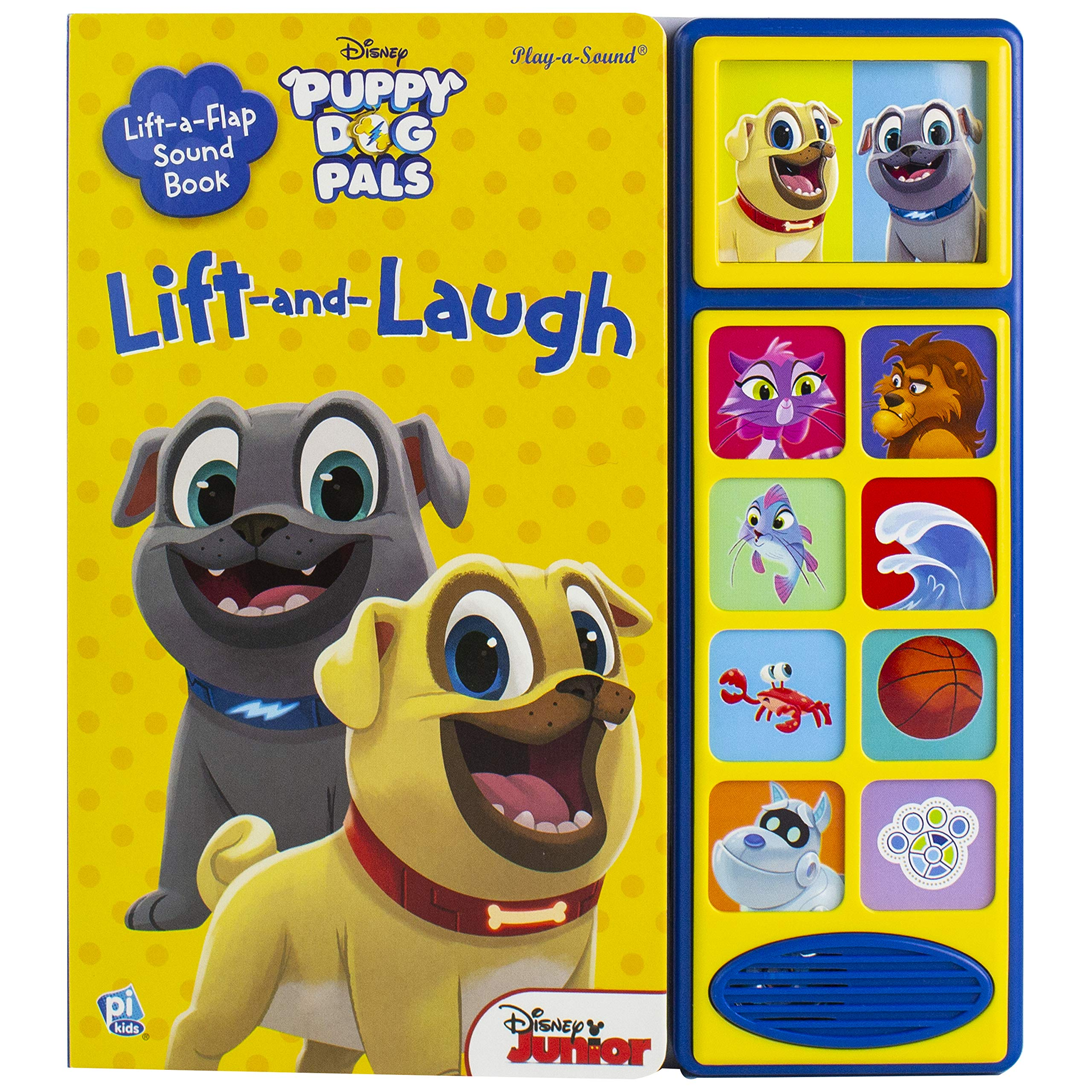 Disney Junior Puppy Dog Pals Lift and Laugh Book Only $8.27!