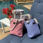 Striped Everywhere Canvas Totes Only $9.98 Shipped! (reg. $29.99)