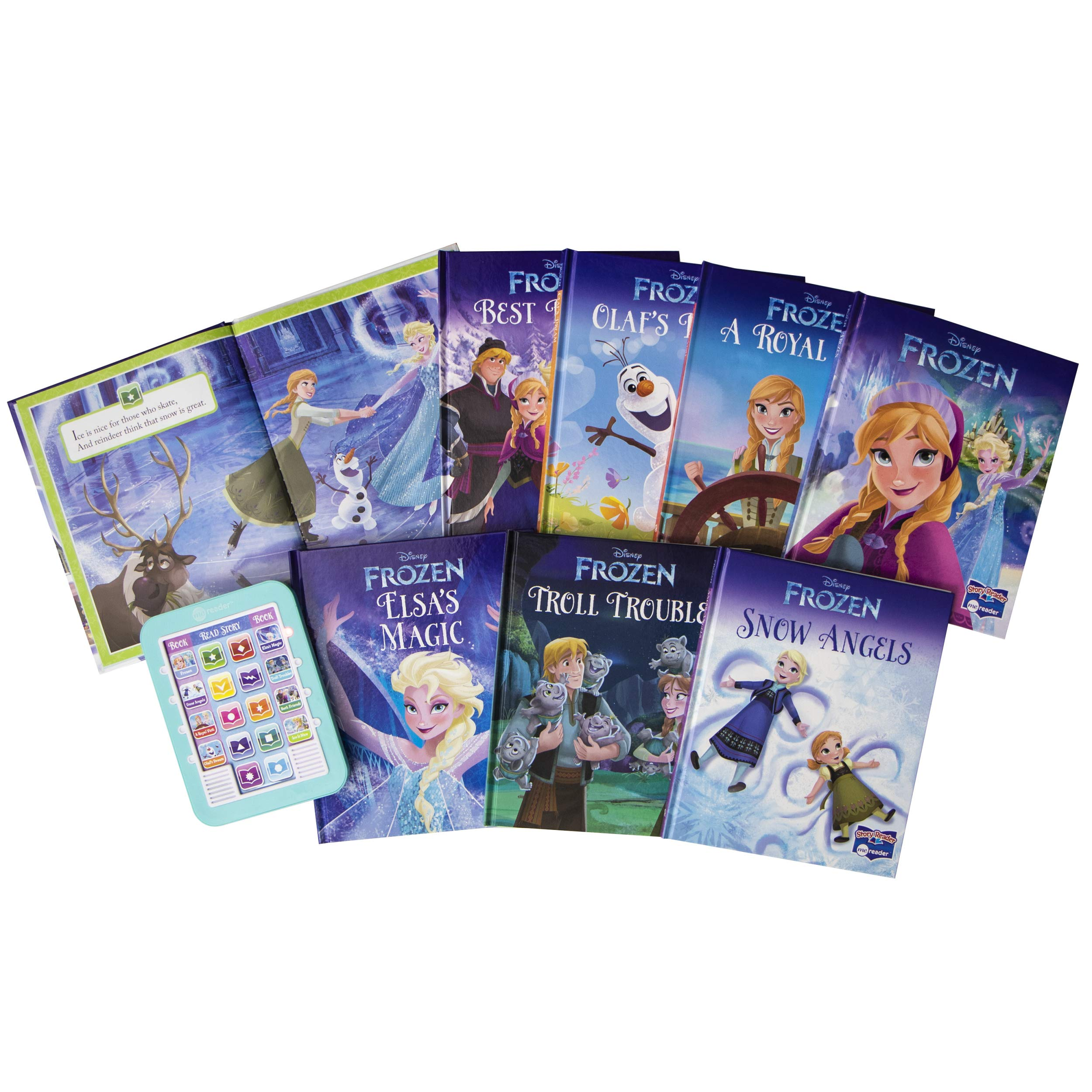 Frozen Me Reader Electronic Reader and 8-Sound Book Library was $32.99, NOW $14.06!