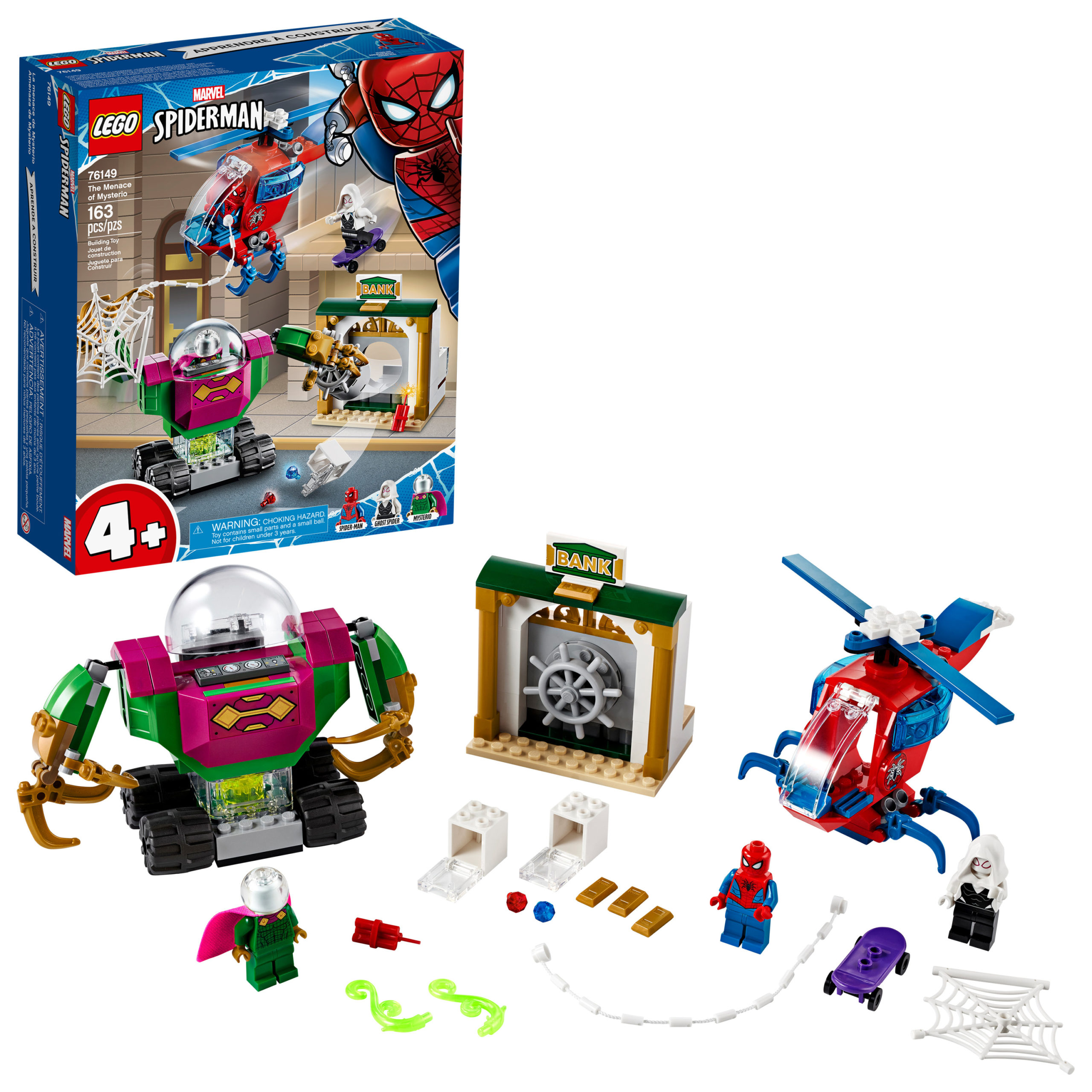 LEGO Marvel Spider-Man The Menace of Mysterio Superhero Building Set Only $19.99!