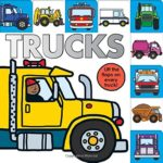 Lift-the-Flap Tab Book: Trucks Only $4.48!