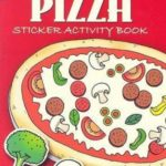Make Your Own Pizza Sticker Activity Book Only $1.99!