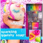 Make Your Own Sparkling Squishy Soaps Only $10.04!