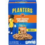 Planters Peanuts, Honey Roasted, 10 count Only $2.98!
