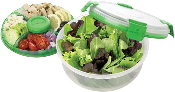 Salad To-Go Container