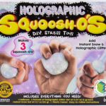 Squoosh-Os Holographic DIY Stress Ball Kit Only $4.97!