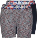 Under Armour Boys' Performance Boxer Briefs 2 Pack Only $7.00!