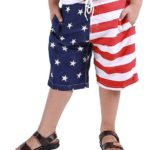 Boys Flag Board Shorts Only $9.99!