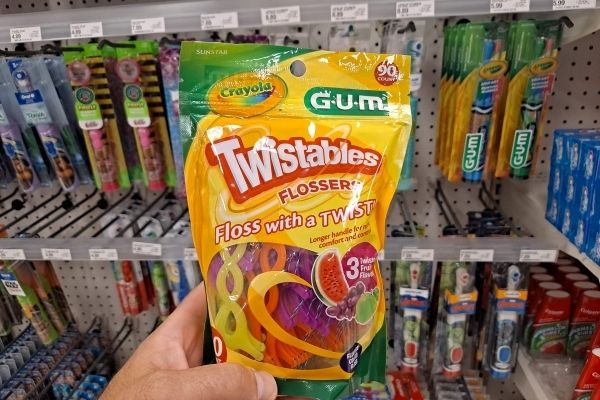 GUM Crayola Kids' Flossers