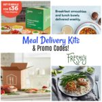 Meal Delivery Kits + Promo Codes to Save!