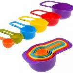 Set of 6 Stackable Measuring Cups and Spoons Only $8.99!