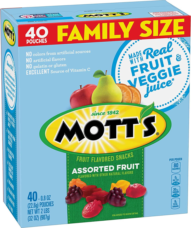Mott's Fruit Snacks 40-Count as low as $4.74!