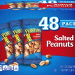Planters Salted Peanuts 48-Count Box as low as $6.79 ($0.14/Bag)!