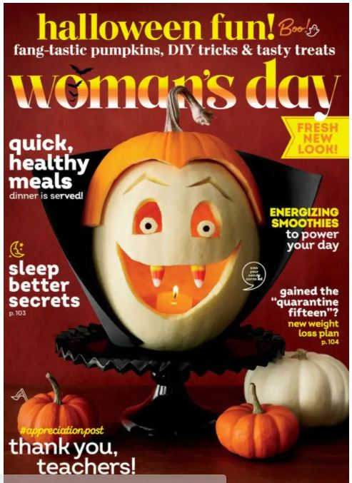 Woman's Day Magazine Subscription Only $4.49 per Year!