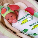 Baby Subway Sandwich Costume Only $8.79!