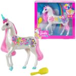 Barbie Dreamtopia Brush 'n Sparkle Unicorn with Lights and Sounds - $21.47!