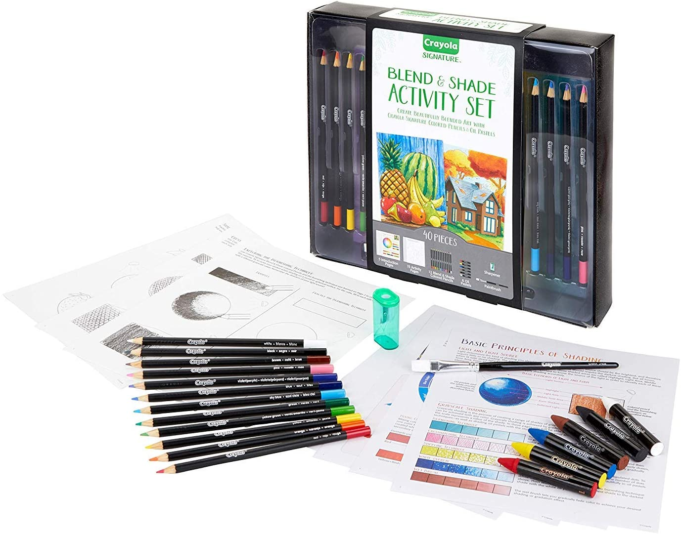 Crayola Adult Coloring Art Set, 40 Piece Only $11.31 ...