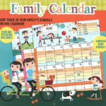 Family Wall Calendar Only $3.95!!