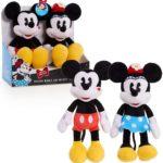 Mickey & Minnie Kissing Plush Only $7.78! (reg. $20)