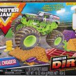 Monster Jam Grave Digger Monster Dirt Deluxe Set Only $9.37!