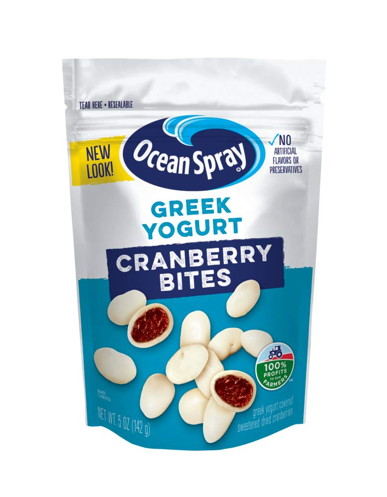 Ocean Spray Greek Yogurt Covered Bites, 5 Ounce Only $2.50!