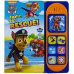 Paw Patrol Ready, Set, Rescue! Sound Board Book Only $5.01! (reg. $14)