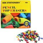 Pencil Top Erasers 128-Count Pack Only $4.99!