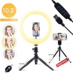 Selfie Ring Light with Stand & Phone Holder Only $11.75!
