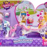 Shopkins Happy Places Royal Wedding Carriage with Pony and Petkins Only $8.99!