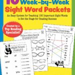 Sight Word Packets, 10 Weeks Only $6.13!