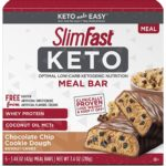 SlimFast Keto Meal Replacement Bar, 5 Count Only $6.24!