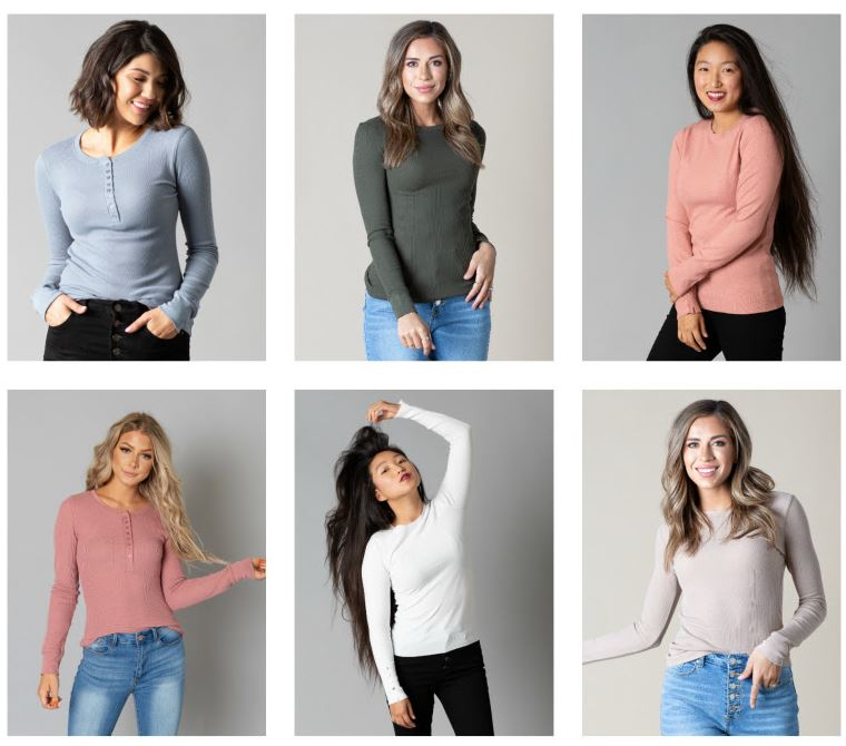 Cents of Style Thermal Tops Only $12.95!