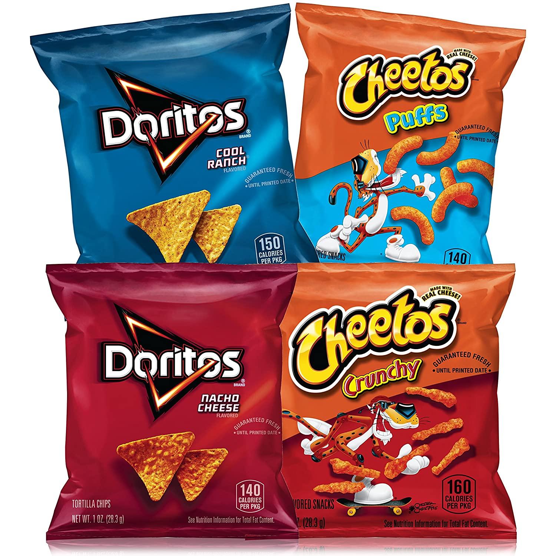 Frito-Lay Doritos & Cheetos Mix Variety Pack 40-Count as low as $8.91!