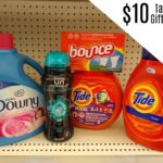 $10 Target Gift Card wyb $40 Fabric Care and Laundry Products!