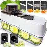 Mandoline Vegetable Slicer - 6 Adjustable Blades Only $16.99!