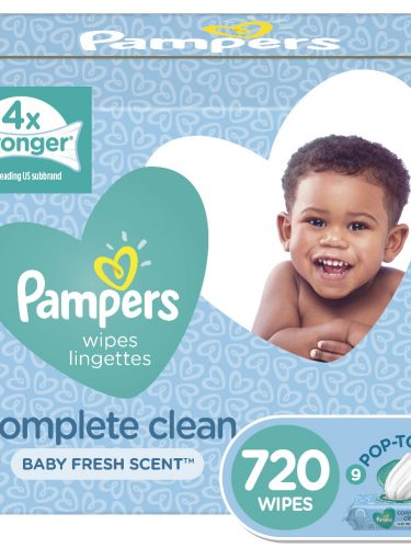Pampers Complete Clean Scented Baby Wipes Only $0.02 per Wipe!