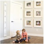 Canvas Wall Growth Chart Only $19.99!